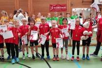 Leichtathletik-Hallenmehrkampf der SchülerInnen U8, U10 und U12 in Plüderhausen